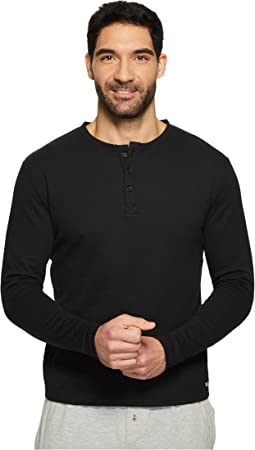 Kenneth Cole Reaction - Long Sleeve Waffle Crew Single