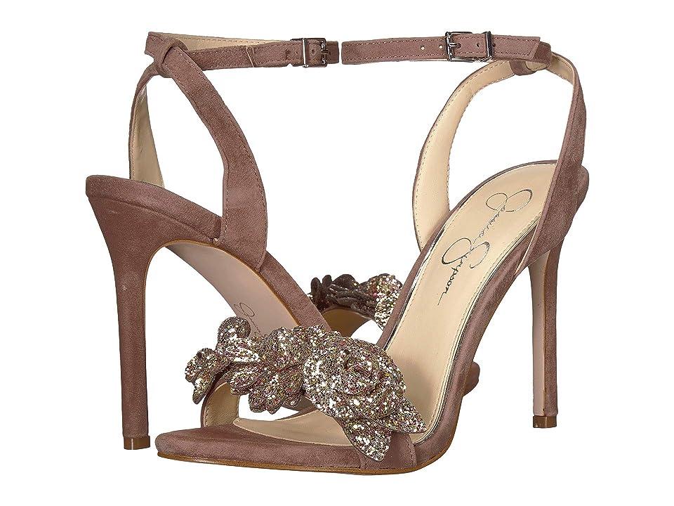 Jessica Simpson Jazzy (Mellow Mauve Lux Kid Suede) High Heels