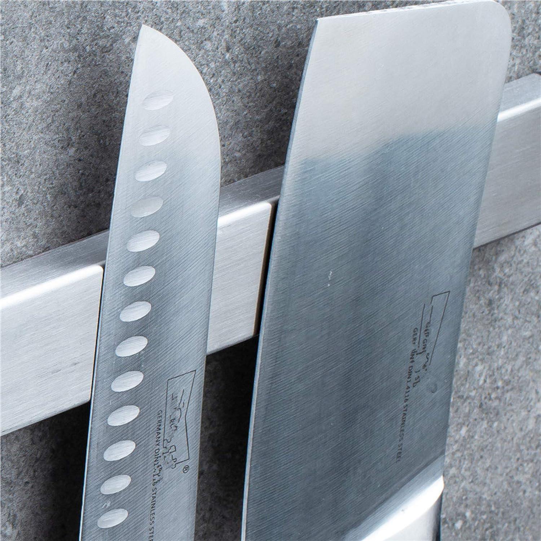 LTLJX Barra Magnetica per Coltelli Universale Portacoltelli Acciaio Inossidabile in Modo Sicuro E Sicuro Facile da Montare per Tenere in Ordine Coltelli Utensili da Cucina Attrezzi,A-30cm