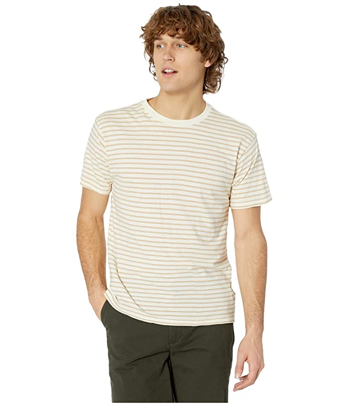RVCA  Automatic Stripe (Light Yellow) Mens Clothing