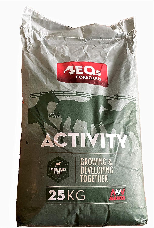 Pienso para Caballos Nanta Activity 25kgs. Alimento equilibrado para equinos (Caballos, burros, Ponis o Mulas)
