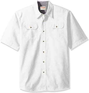 Wrangler Authentics Men's Short-Sleeve Classic Woven Shirt
