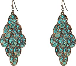 M&F Western - Patina Dangle Earrings