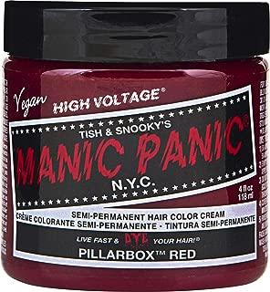 Manic Panic Pillarbox Red Fire Engine Red Hair Dye