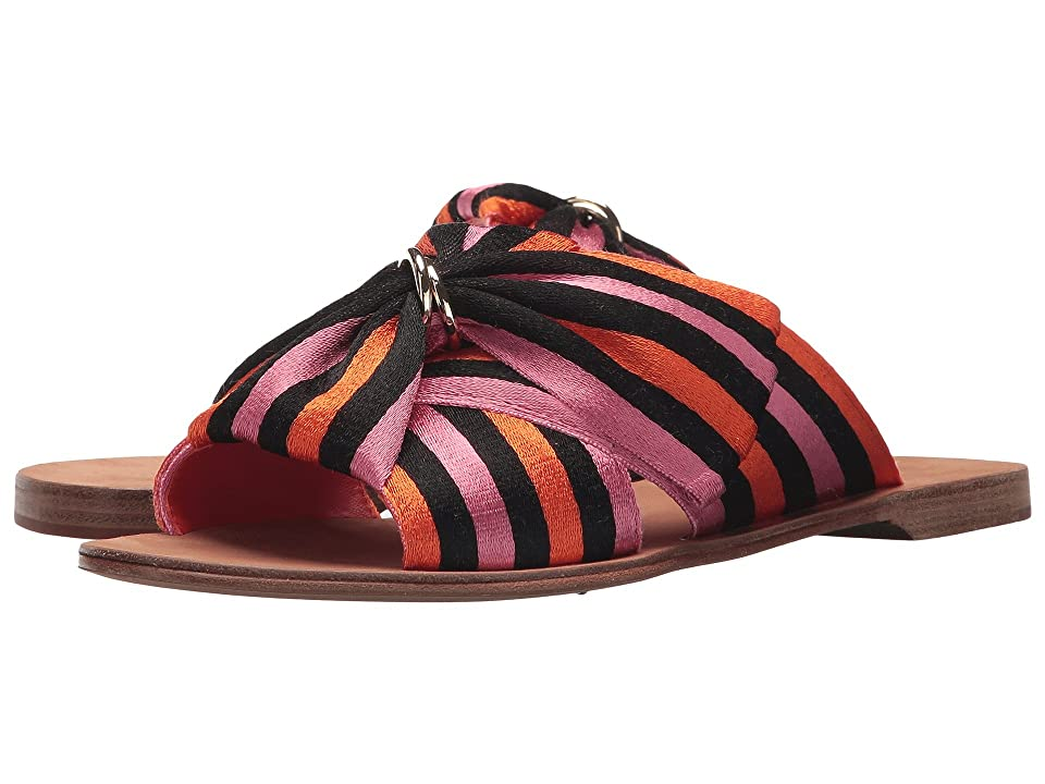 Diane von Furstenberg Bella (Orange/Black/Rose Ribbon) Women