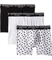 Ants 3-Pack Stretch Boxer Briefs