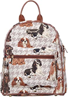 Signare Tapestry Daypack Backpack Bag Cavalier King Charles Spaniel Dog NEW