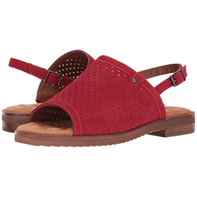 Walking Cradles Juliette (Red Perfed Nubuck) Women
