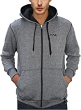 AWG - All Weather Gear Men's Melange Cotton Blended Grindle Sweatshirt with Zip