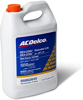 ACDelco DEX-COOL Extended Life Anti-Freeze/Coolant (Pre-Diluted)