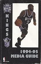 1994-95 Sacramento Kings Media Guide Yearbook