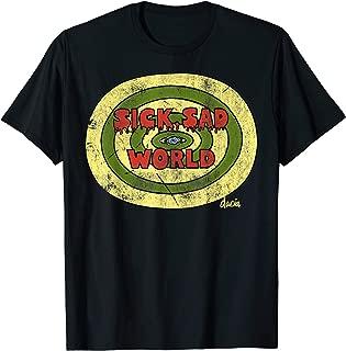 Sick Sad World Drippy Text Eye Logo T-Shirt