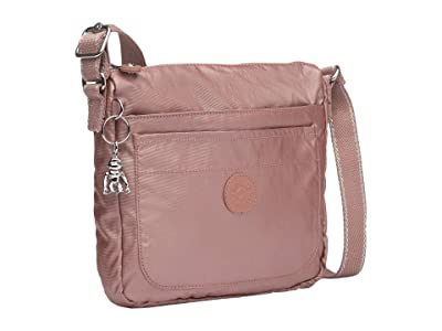 Kipling Sebastian Crossbody (Metallic Rust) Cross Body Handbags