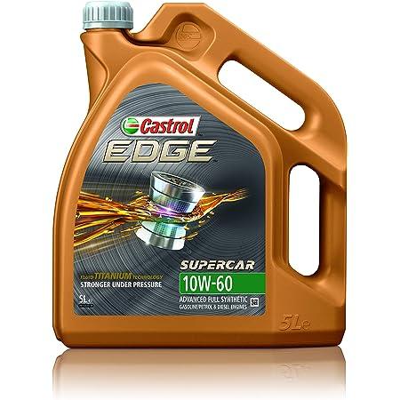 Castrol 1845037 Motoröl Edge 10w 60 5 Liter Supercar Wg Brown Auto