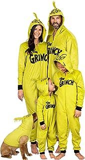 TENMET Matching Family Footed Pajamas Hoodie Onesies Christmas Pj/'s Zipper One-Piece Loungewear Sleepwear