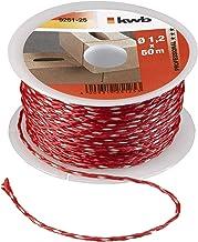 kwb 9251-25, rood metselaarsnoer 50 meter, 1,2 mm, M x 1, 2 mm