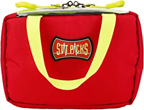 Statpacks G3 Remedy Kit Red, Compact Quick Access Organization, Color-Coded Identification, Accessory EMS Bag for EMS, Police, Firefighters and Athletic Trainers