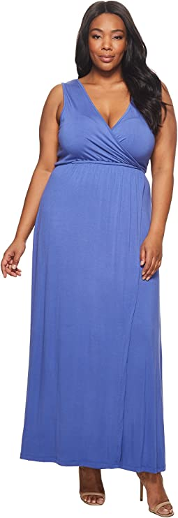 KARI LYN - Plus Size Jain Maxi Dress