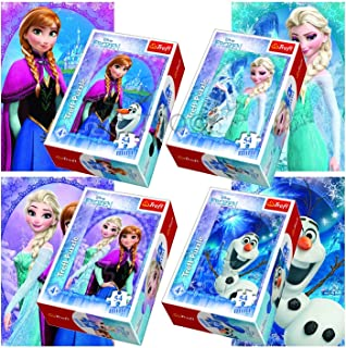 "Puzzles -""54 mini"" - In the Frozen Land/Disney Frozen"