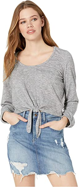 Knot & Bothered Tie Front Top