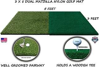 Dual Turf Matzilla Golf Mat 3 Feet x 5 Feet