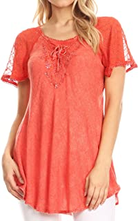 Best trendy blouse styles made with lace Reviews