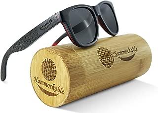 Maple Wood Sunglasses - 100% Polarized Lenses in a Handmade Wooden Wayfarer that Floats!