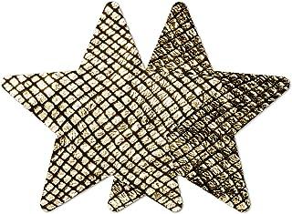 Nippies Style Gold Snake Star Waterproof Self Adhesive Nipple Cover Pasties