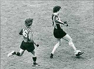 Vintage photo of Ola Blumenberg football