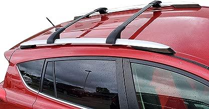 BRIGHTLINES Aero Roof Rack Cross Bars Compatible with Toyota RAV4 2013-2018