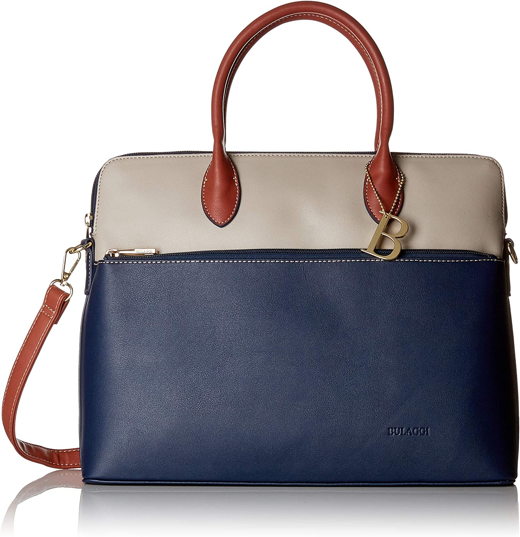 Bulaggi Abby Laptopbag, Women's Laptop Bag, bluee (Dunkel blue), 28x9x37 cm (B x H T)