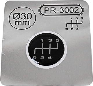 1x Schalthebel Aufkleber Durchmesser = 40 mm 6-Gang Schaltknauf Emblem Silikon Sticker Schema 2