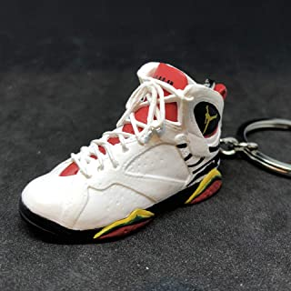 Air Jordan VII 7 Retro Premio BIN 23 OG Sneakers Shoes 3D Keychain 1:6 Figure