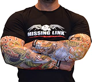 Missing Link SPF 50 Forever Ink'd ArmPro (Multi Color, Large)