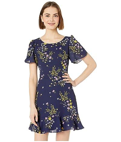 BB Dakota Weekend Feels Dress (Vintage Blue) Women