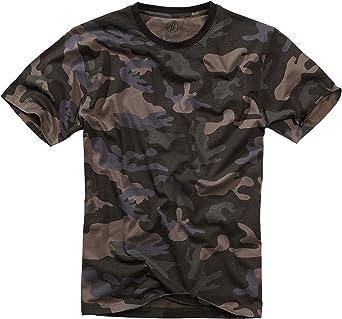 Brandit T-shirt, många (kamouflage) färger, storlekar S till 7XL