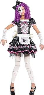 Nuevos Amscan Niños de Halloween Dañado Doll Girls Fancy Dress Costume Party