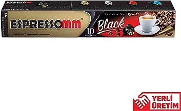 ESPRESSOMM® BLACK KAPSÜL KAHVE (10 ADET) - NESPRESSO® UYUMLU*