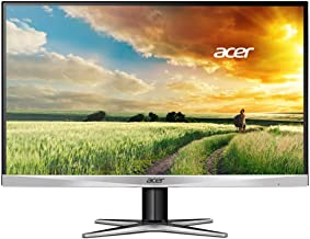 Acer G257HU smidpx 25-Inch WQHD (2560 x 1440) Widescreen Monitor,Black/Silver