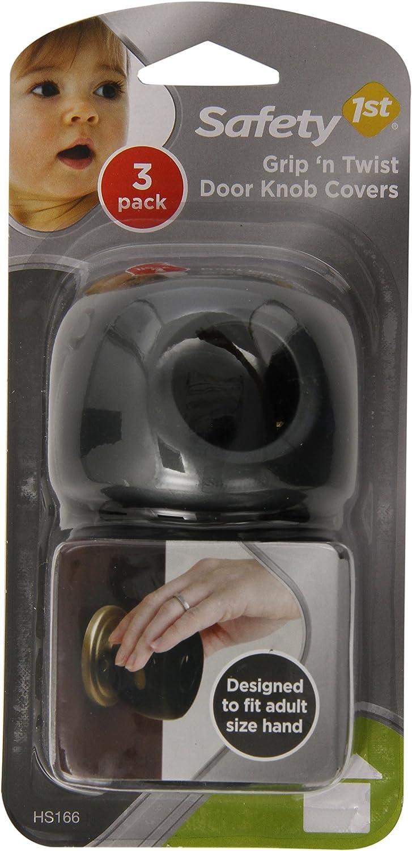 Safety 1st Grip N' Twist Door Knob Covers, Decor, 3-Count