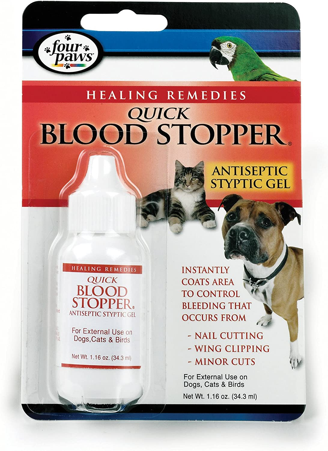 Four Paws Pet Quick free Ranking TOP2 Blood oz Gel 1.16 Stopper