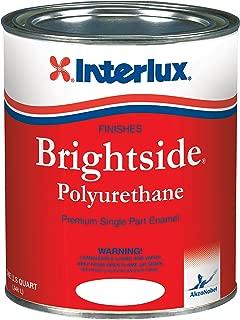 Interlux Y4359/QT Brightside Polyurethane Paint (White), 32. Fluid_Ounces