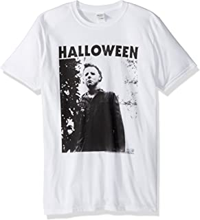 American Classics Halloween The Movie Watching Big Adult Short Sleeve T-Shirt