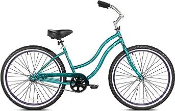 Kent International 26 Inch Back Wheel Kiawah Ladies Cruiser Street Bicycle, Teal