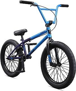 Mongoose Legion L80 Boy's Freestyle BMX Bike, 20-Inch Wheels, Light Blue