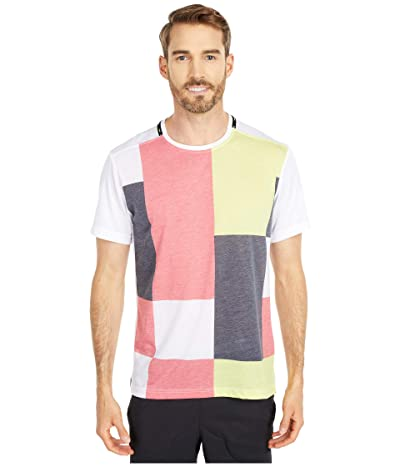 Nike Top Short Sleeve Sport Clash (White/Lemon Venom/Black) Men
