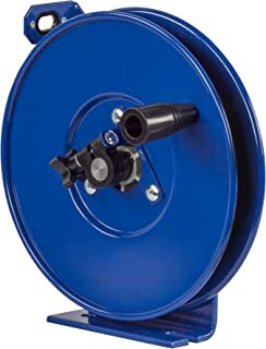 Coxreels SDHL-200 Static Discharge Hand Crank Cable Reel: 200' cable,Blue,3/32