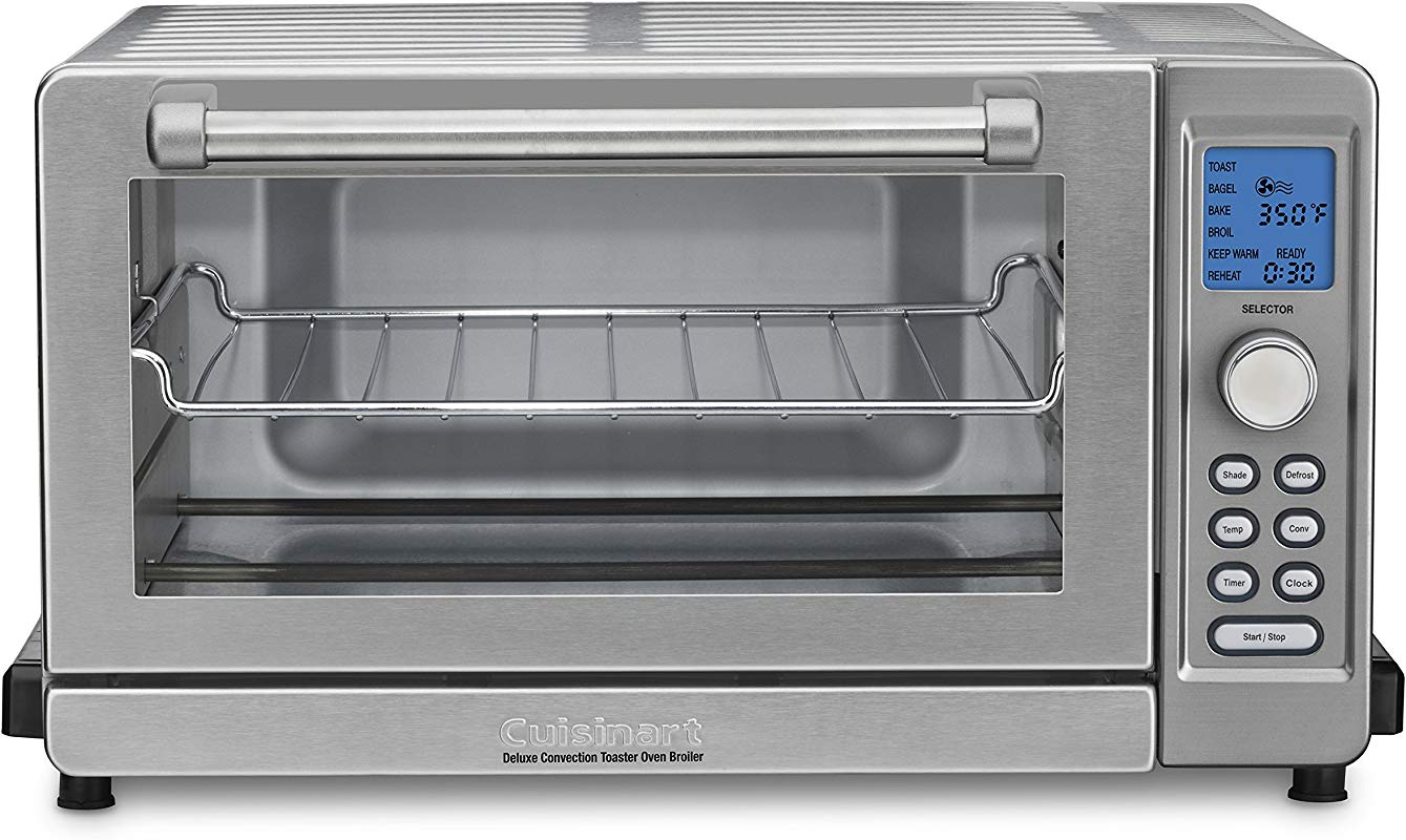Cuisinart TOB 135N Deluxe Convection Toaster Oven Broiler Stainless Steel