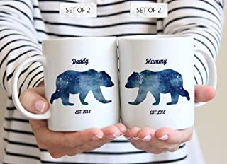 mummy bear and daddy bear mugs