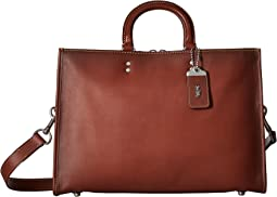 COACH - Rouge Brief in Glovetan Leather